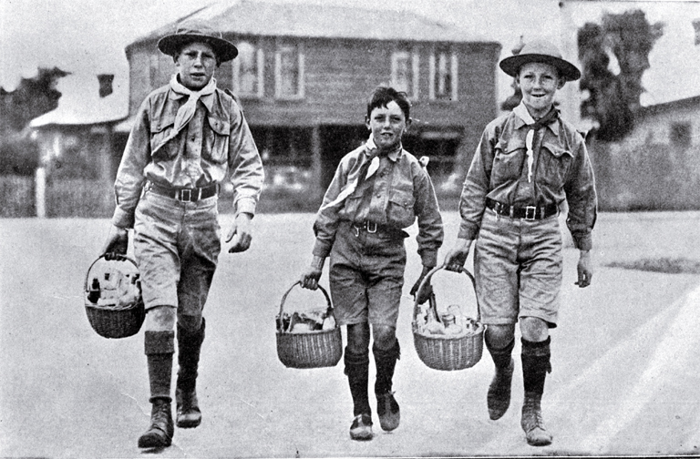 New Zealand's First Boy Scout Patrol – 1908 | Discover The